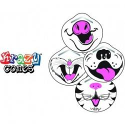 Krazy Cones Molded Masks [case of 10 boxes]