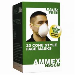 AMMEX N95 Rated Cone Masks
