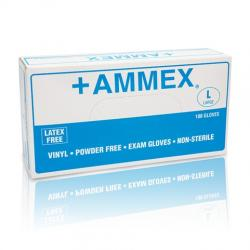 AMMEX Powder Free Vinyl Gloves [1000]