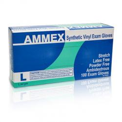 AMMEX Powder Free Stretch Vinyl Gloves [1000]