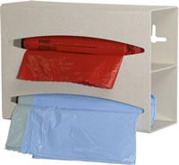 Bag Dispenser, double, ABS Quartz