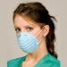 Valueline Molded Cone Mask, blue [case of 10 boxes]