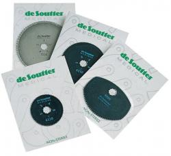De Soutter CleanCast Blades - Circular, Hard Chrome PTFE Coated, 80mm [5]