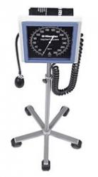 Riester Big ben Large Face Aneroid Sphygmomanometer, square dial, floor model, 38cm