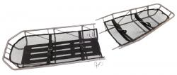 Military Type III S.S. Basket Stretcher, Break-Apart without Leg Divider