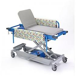 MR Conditional Adjustable Height, 3T Patient Trolley, Pediatric