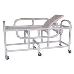 MR Conditional PVC Bariatric Sling Gurney with elevating headrest