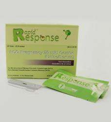 Rapid Response Pregnancy Combo (Urine/Serum) Test Cassettes