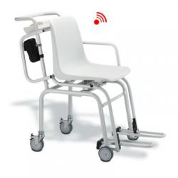 seca 360 Wireless Chair Scale, four wheels